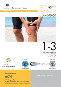 40th CYPRUS ORTHOPAEDIC CONFERENCE