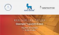 Πρόσκληση διαδικτυακής παρουσίασης του νέου εβδομαδιαίου GLP-1RA Ozempic